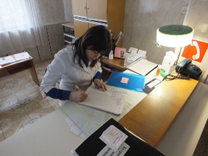 терапевт Макеева делает назначения в дневном стационаре
