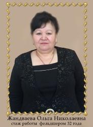 Жандваева Ольга Николаевна
